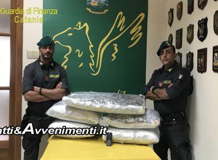 Tremestieri Etneo (CT). Finanza sequestra marijuana per 600mila euro: arrestato un albanese