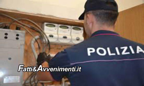 Caltanissetta. Allacci abusivi alle case popolari: Polizia denuncia otto inquilini per furto aggravato