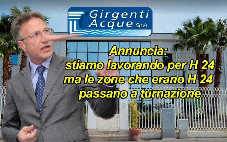 """Sciacca. """"Bugie"""" di Girgenti Acque, annuncia miglioramenti ma le cose peggiorano: La Valenti rescinda il contratto"""