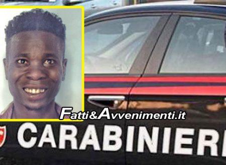 Catania. Nigeriano aggredisce segretario per 15 euro, poi anche i Carabinieri con bottiglia di vetro rotta: arrestato