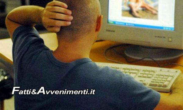 Catania. Commenti a sfondo sessuale a foto di minorenni sui social: arrestato per detenzione di materiale pedopornografico
