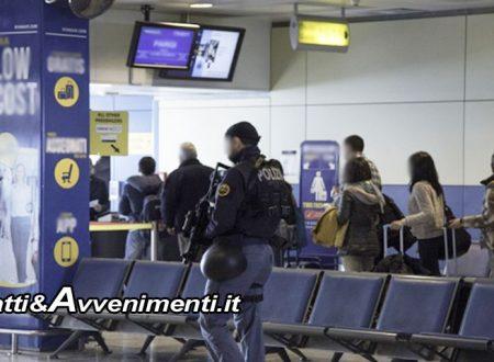 Aeroporto Fontanarossa. Un eritreo e un somalo tentano di entrare in Italia con documenti falsi: rimandati a Malta