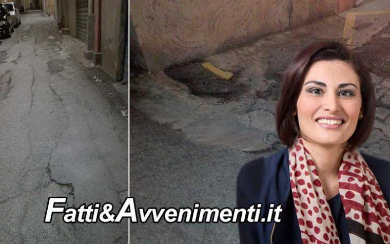 """Sciacca. Santangelo al sindaco: """"Via Olivella e Garigliano necessitano di messa in sicurezza"""""""