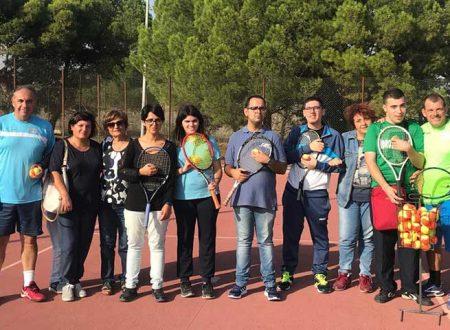 """Tennis Club Sciacca avvia l'iniziativa di curare i ragazzi disabili dell'associazione """"Crescere Insieme"""""""
