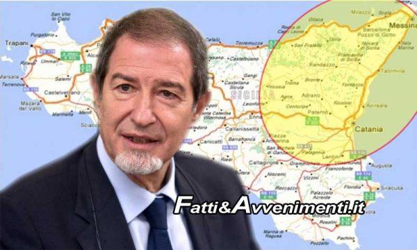 """Terremoto nell'etneo. Governatore Musumeci: """"Chiuse due chiese e qualche contuso, seguo costantemente la vicenda"""""""