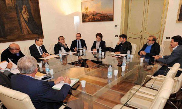Dissesto idrogeolico, incontro Comune-Regione, Musumeci: le case sul Cansalamone sono un crimine