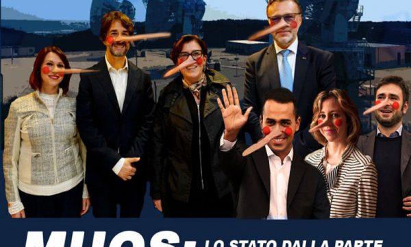 """Il Muos va avanti, Comitati: """"M5S dalla parte di Americani e industrie della guerra, sono uguali a PD e Forza Italia"""""""