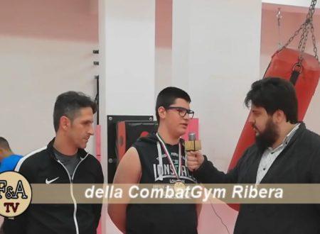 """Ribera. Rocco Sola campione nazionale di pugilato under 14: """"Premiato da Clemente Russo, mi ispiro a lui"""""""