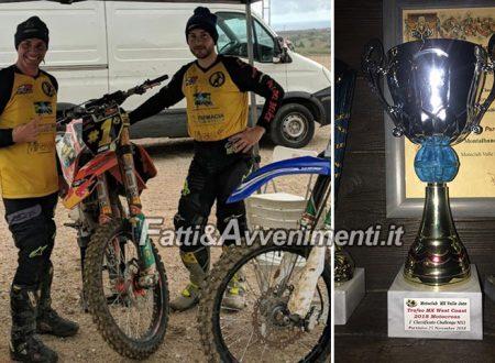 Il saccense Montalbano campione regionale di cross vince anche a Partinico conquistando 2 primi posti