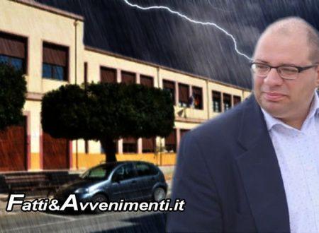 """Sciacca, alluvione. Salvatore Monte: """"Si dispongano controlli alle scuole prima di far rientrare gli studenti"""""""