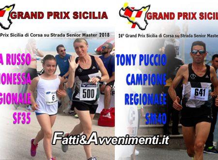 San Cataldo (CL). Grand Prix regionale di corsa circuito brillante: i saccensi Russo e Puccio primi