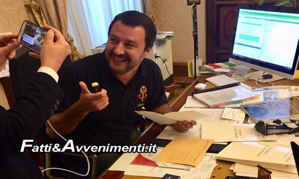"""Caso Diciotti. Procura di Catania chiede archiviazione per il Ministro Salvini: """"Perchè Patronaggio ha aperto l'inchiesta?"""" – VIDEO"""