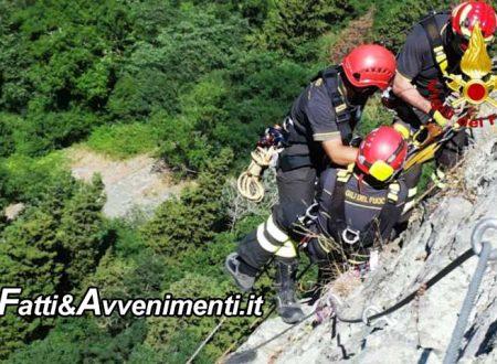 Agrigento. Passeggiata in mountain bike da dimenticare per  un 15enne che cade in un dirupo: salvato dai pompieri