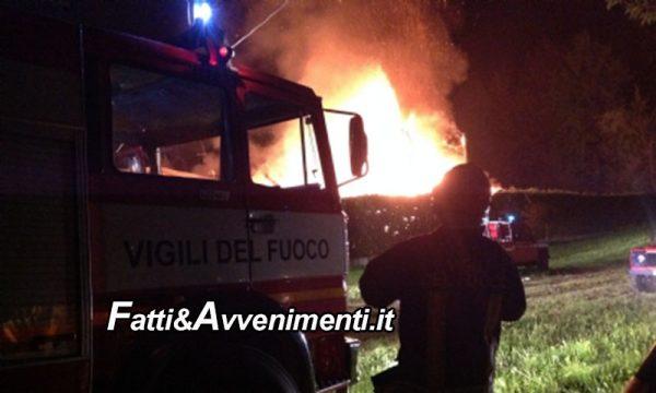 """Ribera. Uomo muore durante incendio in c.da Scirinda: """"Forse malore"""""""