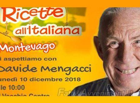 """Montevago. Lunedì 10 arriva """"Ricette all'italiana"""" programma di Rete 4 con Davide Mengacci"""