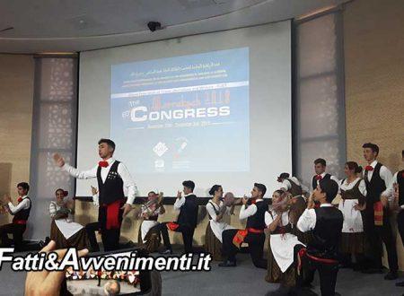 """Successo a Marrakech-Marocco: 60° Congresso Mondiale Fijet, aperto dal Gruppo Folk """"Val d'Akragas"""" di Agrigento"""