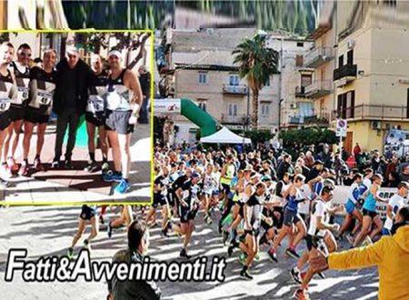 Asd Marathon e Tartaruga ad Altofonte al Memorial Podistico F. Pipitone: ecco i tempi dei saccensi in gara
