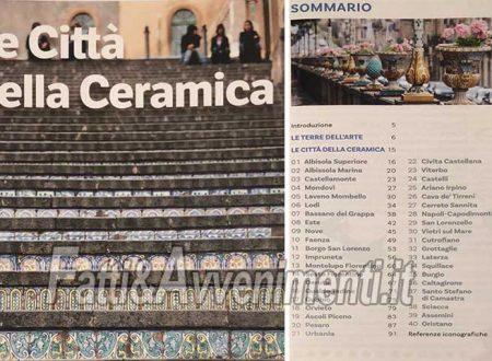 """Sciacca. Realizzata guida turistica """"Città di tradizione ceramica"""" che verrà presentata a Milano"""