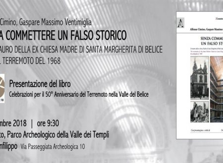 """Agrigento. Martedì prossimo presentazione del libro """"Senza commettere un falso storico"""" di Cimino e Ventimiglia"""