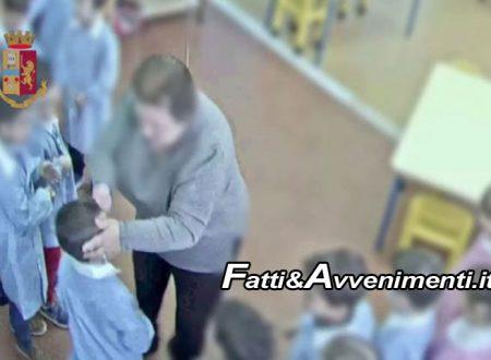 Noto. Maestra d'asilo maltrattava bambini di 4 anni: sospesa per 12 mesi – VIDEO