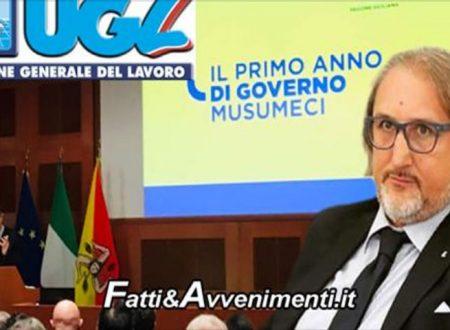 """Report su politiche del Governo Regionale. UGL: """"Appreziamo il grande sforzo del Governo Musumeci"""""""
