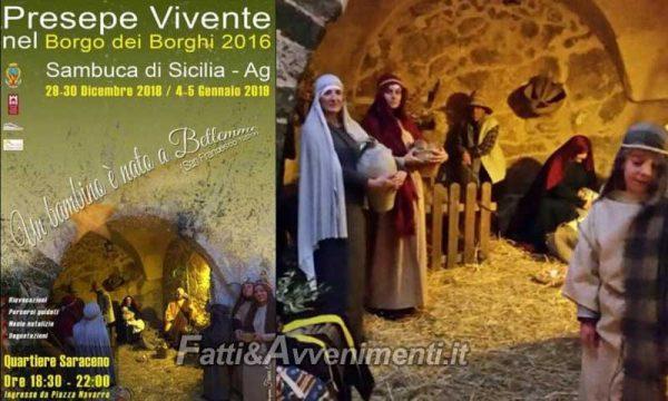 Sambuca di Sicilia. Nel Borgo dei Borghi il 29 e 30 dicembre ritorna il presepe vivente e molto altro