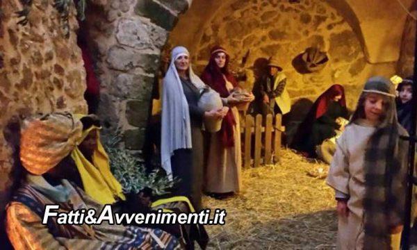 Sambuca di Sicilia il 29 e 30 dic. e il 4 e 5 gen. diventa Borgo del presepe vivente con oltre 200 i figuranti