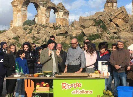"""Montevago. Arriva """"Ricette all'italiana"""" con Davide Mengacci: il vecchio centro trasformato in un set televisivo"""