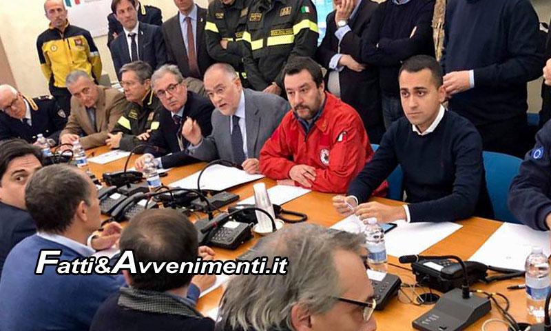 Catania, Di Maio sui luoghi del terremoto: