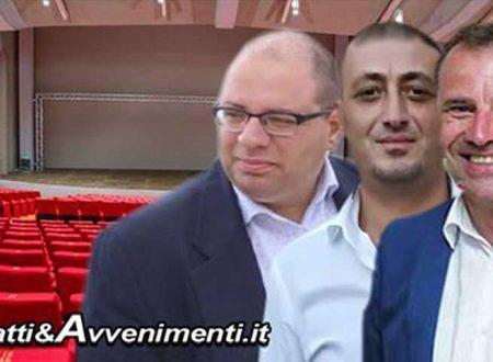 """Sciacca, Teatro Samonà. Monte, Bono e Milioti: """"Cosa vuole farne la giunta Valenti? Che fine ha fatto il contributo della Regione?"""""""