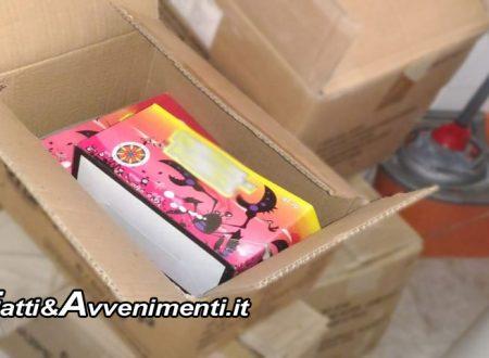 Catania. Botti di Capodanno: sequestrati 600kg di materiale esplodente in un negozio di alimentari