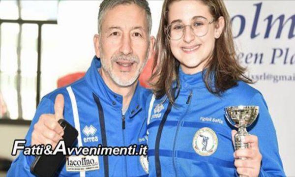 """Scherma. Buona prova per la Discobolo Sciacca a Lucca alla Prima Prova nazionale Gran Prix """"Kinder +Sport"""" Under 14"""