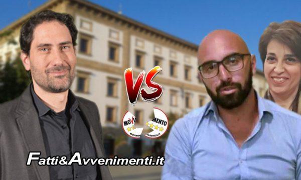 """Sciacca. M5S contro Curreri, On.Mangiacavallo: """"Noi non siamo stampella della Valenti, Curreri chiarisca che ruolo ha"""""""