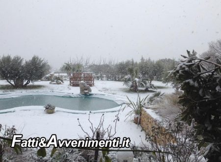 Provincia Agrigento. Arriva ondata di gelo, ma a Caltabellotta ancora non nevica, imbiancata Cammarata
