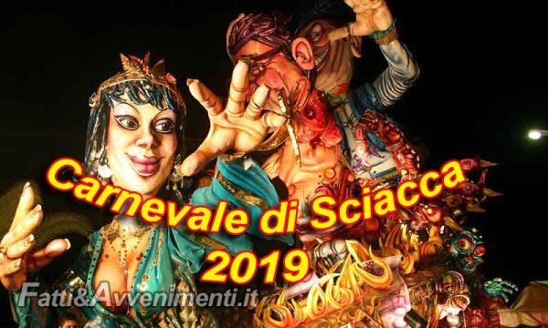 Carnevale di Sciacca 2019. Pubblicato il bando per la gestione dell'evento: domande entro 22 gennaio