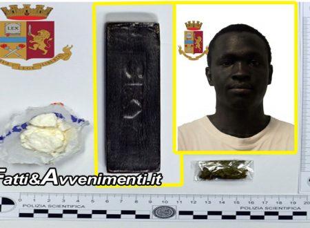 Castelvetrano. Beccato con cocaina, hashish e marijuana fuori dal Centro di Accoglienza: arrestato gambiano