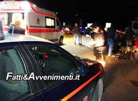 Ispica (RG). Tragico scontro frontale tra 2 auto: 3 i morti, una 17enne, un 22enne e una 54enne
