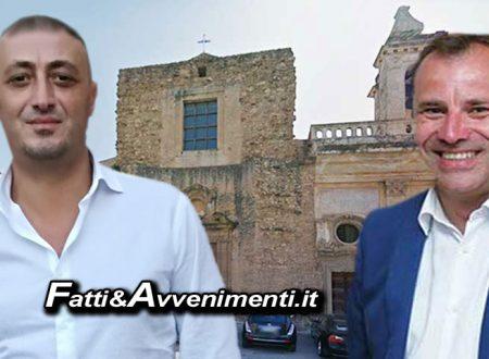 """Sciacca. Chiesa S. Agostino, Milioti e Bono: """"Senza di noi l'amministrazione Valenti avrebbe continuato a dormire?"""""""