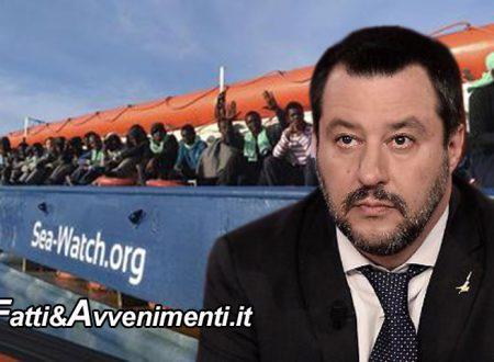 """Sea Watch3, Salvini: """"Missione compiuta! l'Europa  costretta a intervenire, i migranti saranno divisi tra 6 Paesi"""""""