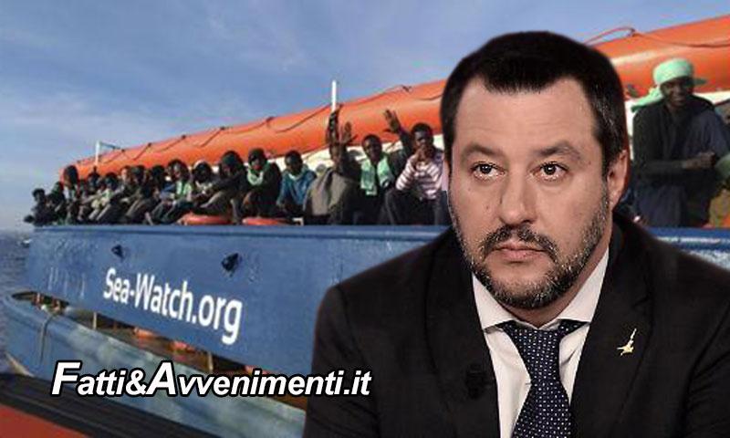 Migranti. Salvini: Al lavoro per sigillare acque italiane a Ong