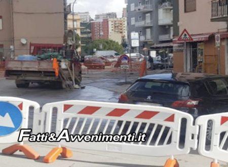 Sciacca. Riparazione impianti idrici e fognari danneggiati, lavori in via Ovidio e Amendola: senso unico nelle due strade