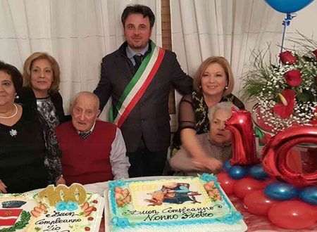 Santa Margherita Belìce. Nonno Pietro Forniciari compie 100 anni