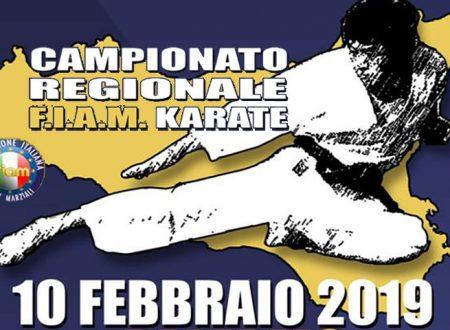 La Sakura dei maestri Giuffrida domenica 10 presenti al Campionato Regionale FIAM di Karate