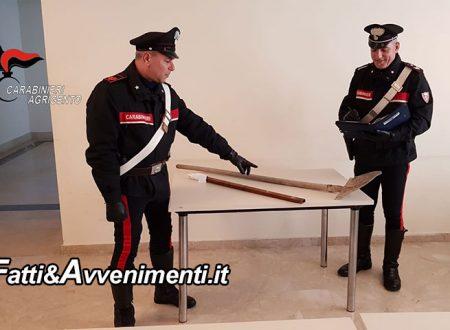 Licata. Violenta rissa in un condominio con spranga e piccone: i Carabinieri arrestano 5 persone