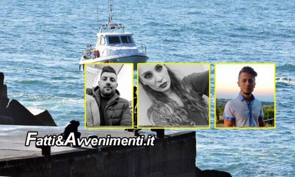 Acireale. Trovato dall'elicottero della guardia costiera il corpo di due dei giovani dispersi