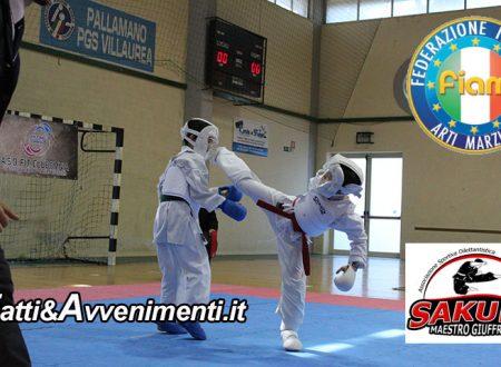 Karate. Campionato Regionale FIAM: la Sakura dei maestri Giuffrida conquista 32 medaglie e 2°posto di società