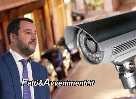 """Sicilia. In arrivo 1,6 milioni ai Comuni per la Videosorveglianza. Salvini: """"Dalle parole ai fatti"""""""