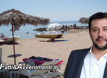 "Da Sciacca a Lipari: Fondi Spiagge Sicure 2019 per 8 Comuni Siciliani.  Salvini: ""Attenzione a comunità locali"""