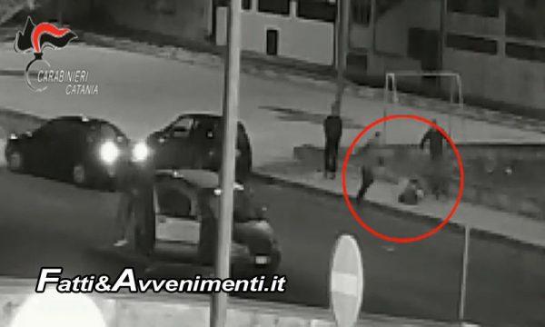 Paternò (CT). Guarda la fidanzata di un altro, in 4 tentano di ucciderlo: arrestati, sono tutti parenti – VIDEO