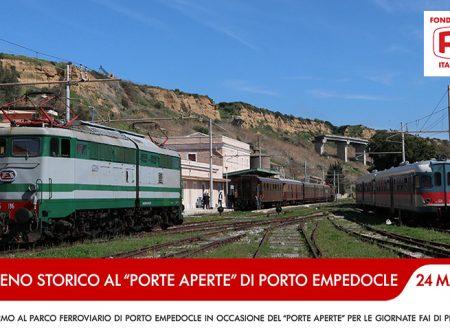 Porto Empedocle. Giornate FAI: domenica 24 marzo per l'Open Day ci sarà il treno storico da Palermo